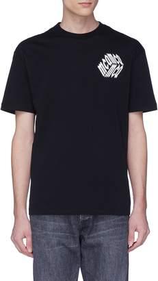McQ Cube logo print T-shirt