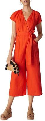 Whistles Etta Cropped Jumpsuit