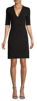 Helmut Lang Cutout Sheath Dress