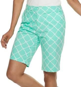Caribbean Joe Women's Print Skimmer Shorts