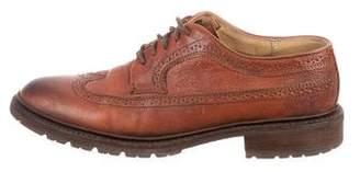 Frye Leather Wingtip Brogues