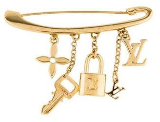 Louis Vuitton Charm Pin Brooch