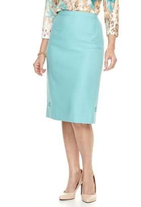 Alfred Dunner Petite Studio Skirt