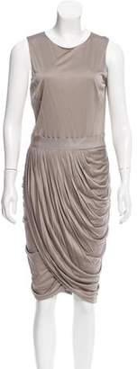 J. Mendel Satin Midi Dress w/ Tags