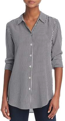Equipment Essential Silk Stripe Shirt