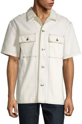 Alexander Wang Seamed Button-Down Shirt