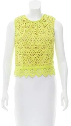 Rebecca Taylor Sleeveless Crop Top w/ Tags