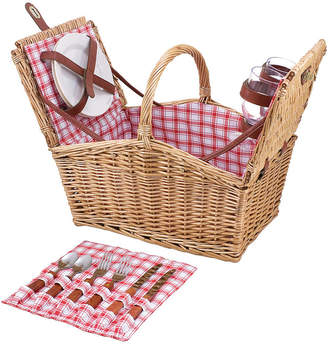 Asstd National Brand Picnic Time Piccadilly Picnic Basket for Two