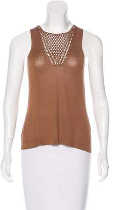 TSE Sleeveless Knit Top