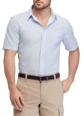 Chaps Big Tall Short-Sleeve Sport Shirt