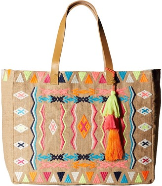 Seafolly - Carried Away Mexican Summer Tote Tote Handbags $122 thestylecure.com