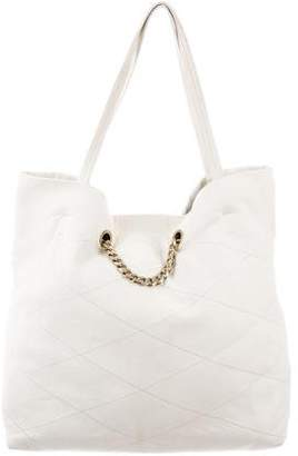 Lanvin Leather Quilted Tote