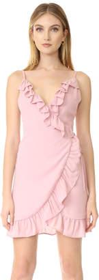 Lioness Caliente Ruffle Dress $75 thestylecure.com