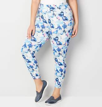 Avenue Abstract Floral Active Legging