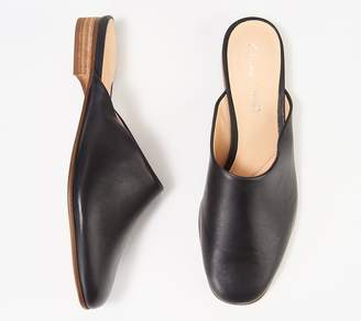 Clarks Leather or Canvas Pointed- Toe Mules - Hope Blush