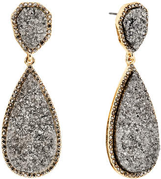 BaubleBar Moonlight Druzy Drop Earrings 31468