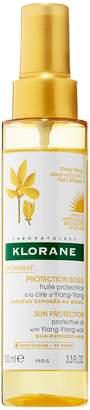Klorane Sun Radiance Protective Oil with Ylang-Ylang Wax