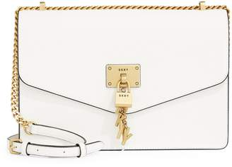 DKNY Elissa Keychain Shoulder Flap Bag