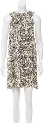 Jenni Kayne Printed Silk Dress