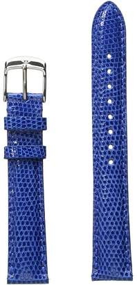Michele 16mm Cobalt Lizard Strap Blue