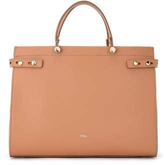 Furla Handbag Model Lady M Caramel Color