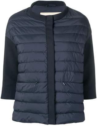 Herno blue padded jacket
