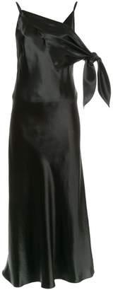 CHRISTOPHER ESBER long V-neck dress