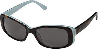 GUESS Women's Gu7408 Rectangular Sunglasses