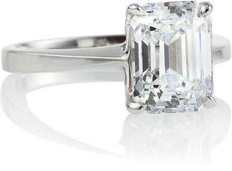 FANTASIA Asscher Solitaire Ring Sizes 6-7