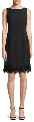 Karl Lagerfeld PARIS Lace Sleeveless Sheath Dress