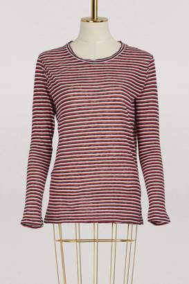 Etoile Isabel Marant Kaaron cotton and linen top