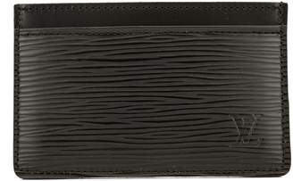 Louis Vuitton Noir Epi Simple Card Holder (3947005)