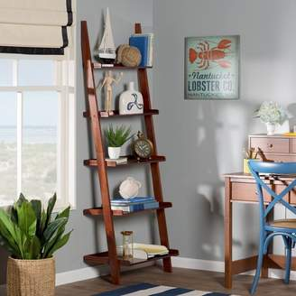 Beachcrest Home Dunhill Ladder Bookcase