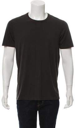 Gucci Web-Trimmed Crew Neck T-Shirt