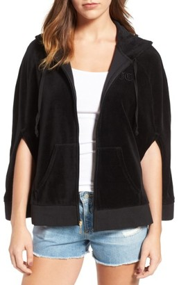 Women's Juicy Couture Velour Cape Hoodie $138 thestylecure.com