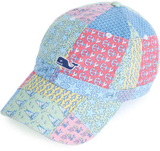Vineyard Vines Heritage Original Patchwork Logo Baseball Hat