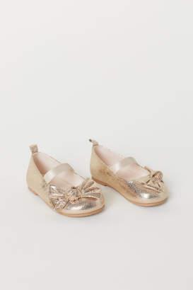 H&M Ballet Flats - Gold
