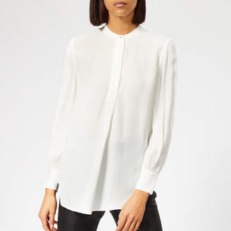 Whistles Women's Stud Pleat Blouse