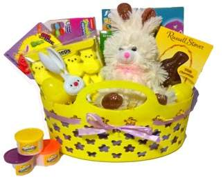 Gifts2GoNow Deluxe Children's Easter Basket