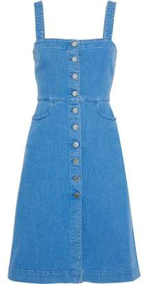 Stella McCartney Button-detailed Denim Dress