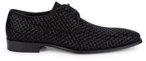 Mezlan Textured Leather Derbys