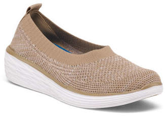 Slip On Wedge Comfort Sneakers