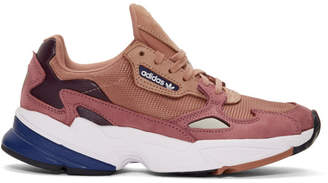 adidas Pink Falcon 90s Running Sneakers