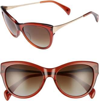 Salt Blanchett 55mm Polarized Cat Eye Sunglasses
