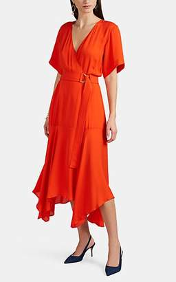 A.L.C. Women's Claire Silk Wrap Dress - Red