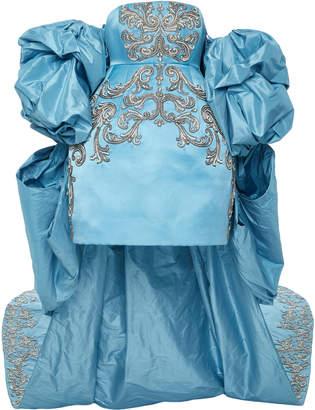 Prabal Gurung Balloon Sleeve Bell Shaped Gown