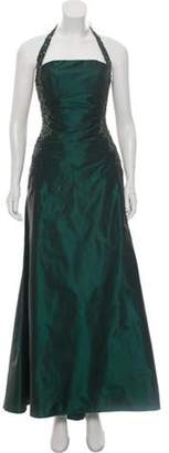 Couture Liancarlo Halter Embellished Gown Liancarlo Halter Embellished Gown