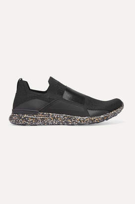 APL Athletic Propulsion Labs Techloom Bliss Mesh And Neoprene Sneakers - Black