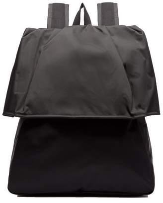 Raf Simons X Eastpak - Female Side Fastening Nylon Backpack - Mens - Black
