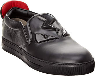 Fendi Leather Sneaker